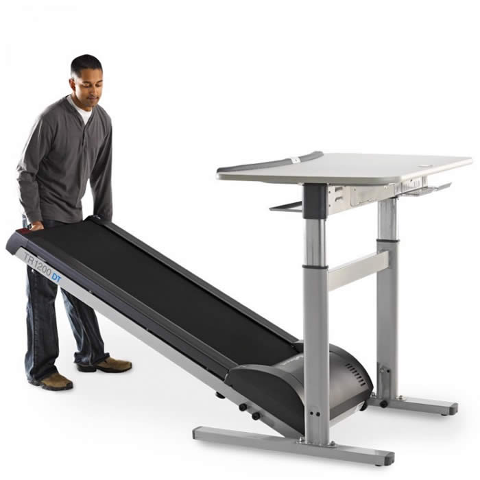 Electric Treadmill Desk: TR1200DT-7